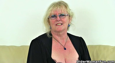 British mature, English, Claire, English granny