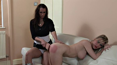 Young daughter, Old boss, Boss spank