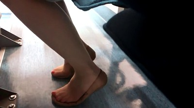 Nylon feet, Shoeplay, Feet nylon