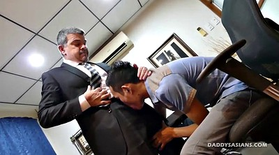 Dad, Castings, Young boy, Asian interracial, Asian casting, Asian blowjob