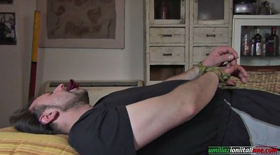 Bdsm, Husband, Lick foot, Time, Foot domination, Dominate