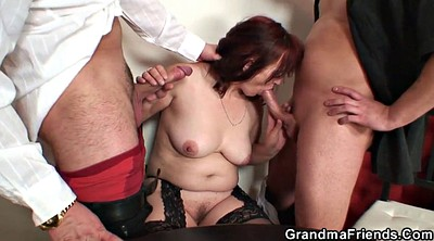 Double, Wife threesome, Threesome wife, Double penetration mature, Bbw young