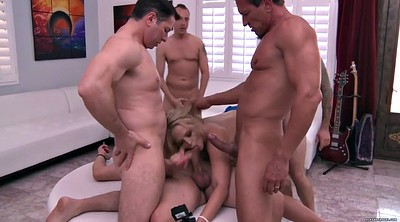 Gangbang creampie, Deep throat, Alexis texas