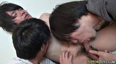 Japanese threesome, Japanese hd