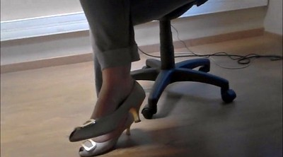 Foot, Under table, Candid feet, Candids, Fetish foot, Feet under table