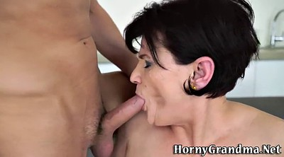 Mature woman, Mature riding