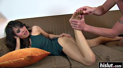 Asian footjob, Asian feet