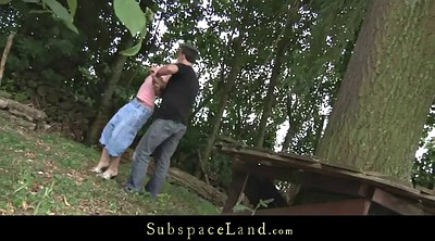 Outdoor, Spanked