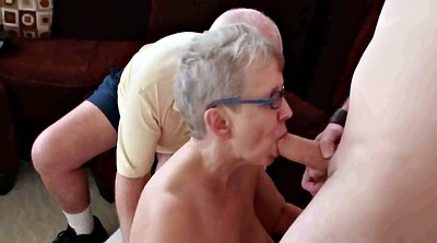 Mature and boy, Grandmas, Boy and mature