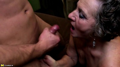 Granny boy, Young boy, Mature boy, Milf and boy