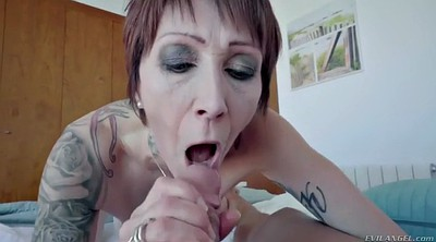 Piercing, Mature anal, Anal milf, Asshole, Big fat, Anal granny
