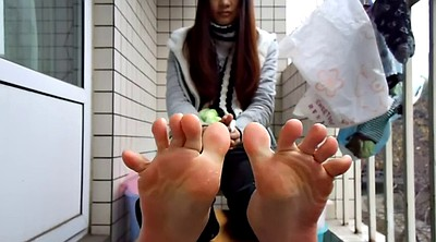 Chinese foot, Chinese feet, Chinese teen, Sole, Teen chinese, Foot sole