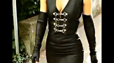Latex, Lady, Skirt, Skirting, Milf secretary