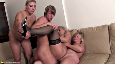 Old and young, Mature group, Seduced, Mom boy, Milf boy, Boy mom