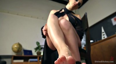 Bdsm, Spanked, Student, Chanel preston, Hairy ass, Femdom foot