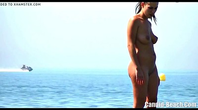 Clit, Hairy clit, Nudist beach