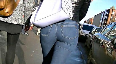 Jeans, Tight jeans, Redhead, Jeans ass, Candid