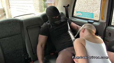 Huge boob, Taxi, Masked, Huge boobs