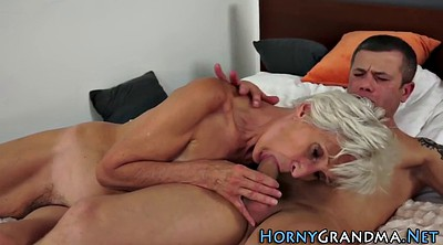 Riding mature, Mature handjob