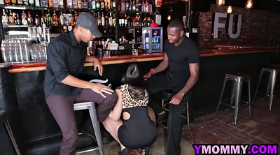Black, Blacked milf, Restaurant