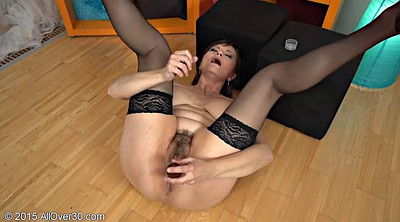 Mature stocking, Stocking masturbation