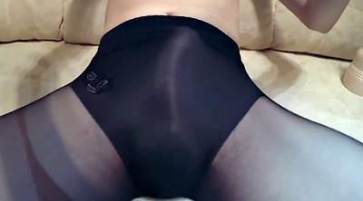 Pantyhose, Aunt, Panties, Run
