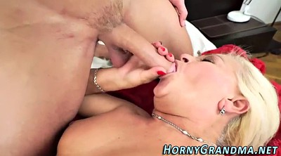 Big matures, Mature facials