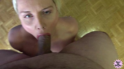 Huge tit, Blonde milf