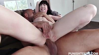 Brunette anal, Reverse cowgirl