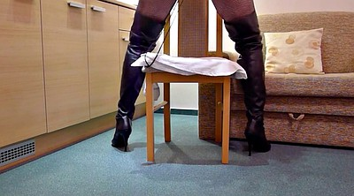 Boots, Leather, Boots anal, Hotel