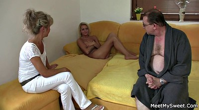 Tricked, Mature threesome, Trick, Parents