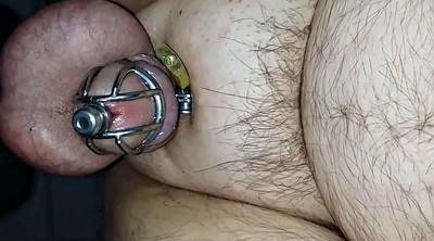 Milk, Prostate, Chastity, Big milk, American, Milking cock