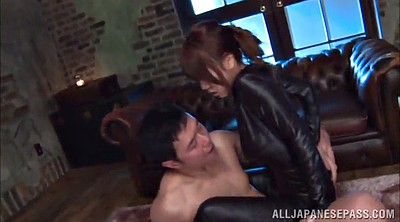 Leather, Big natural tits asian, Natural tit
