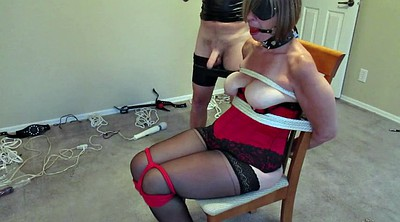 Tied, Chair, Tie, Mature bondage, Mature tied