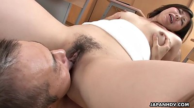 Japanese teacher, Japanese student, Japanese students, Asian teacher, Creampie close up, Asian face