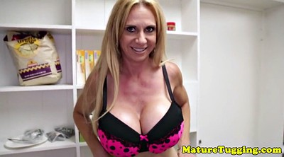 Beauty mature, Mature handjob