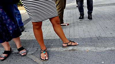 Foot, Candid, Perfect, Toes, Candids, Hidden public
