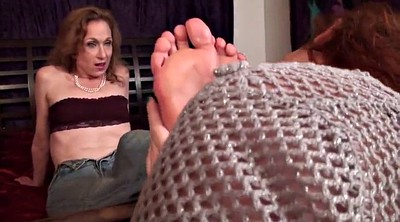 Foot, Foot worship, Aunt, Old young, Mature feet, Lesbian feet