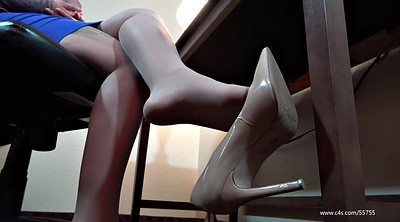 Pantyhose feet, Foot fetish