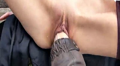 Gaping pussy, Outdoor fisting, Pussy gape, Public fisting