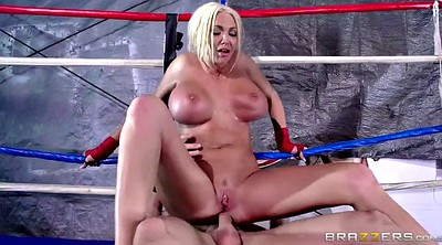 Huge, Gym creampie, Boxing