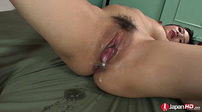 Asian threesome, Double pussy, Japanese double, Sakura, Japanese threesome, Two creampie