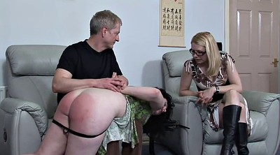 Uncle, Aunt, Spanks, Plump, Spanking girl, Girl spank