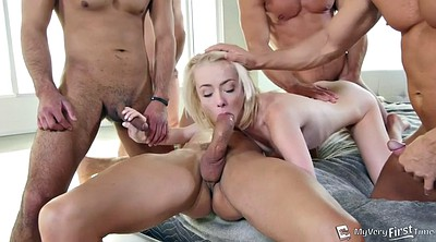 White blonde, Teen sex, Rose, Awesome