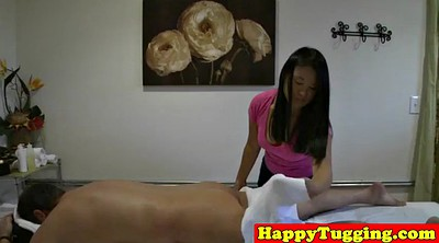 Asian chubby, Wank, Masseuse