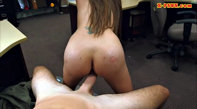 Perverted, Busty blowjob, Nail, Busty office, Big woman