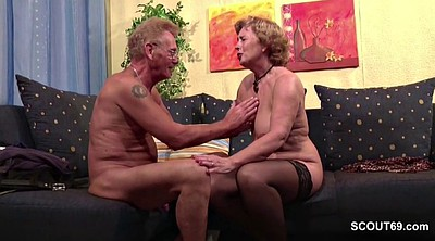 First time, Couple, Mature casting, Old couple, Granny porn, German granny