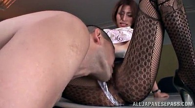 Asian foot, Lick foot, Asian pantyhose, Asian office, Pantyhose handjob, Office foot