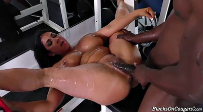 Interracial, Black cock, Anal milf, Fit, Raven hart, Mommy anal