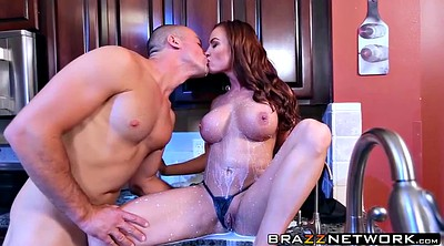 Kitchen, Kitchen sex, Diamond foxxx, Diamond, Sex in kitchen, Kitchen milf